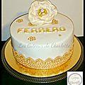 Gâteau ferrero!