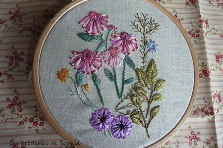Echinaceas et anémones (2)