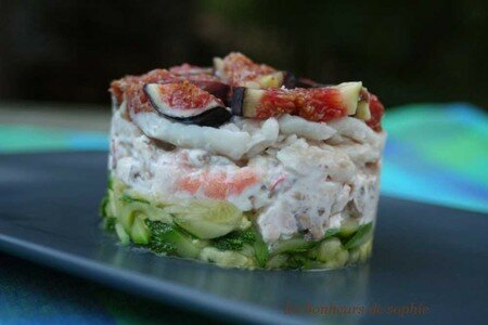 timbale_crevette_sole_champi_figues