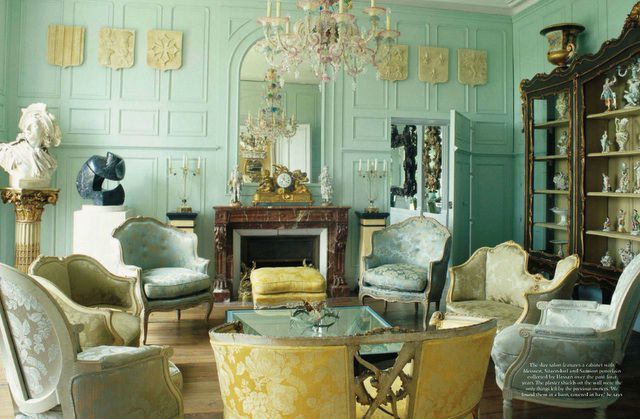 Chateau de la Goujeonnerie France _ The World of Interiors