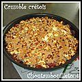 Crumble crétois