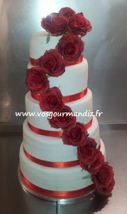 Wedding-cake 5 étages