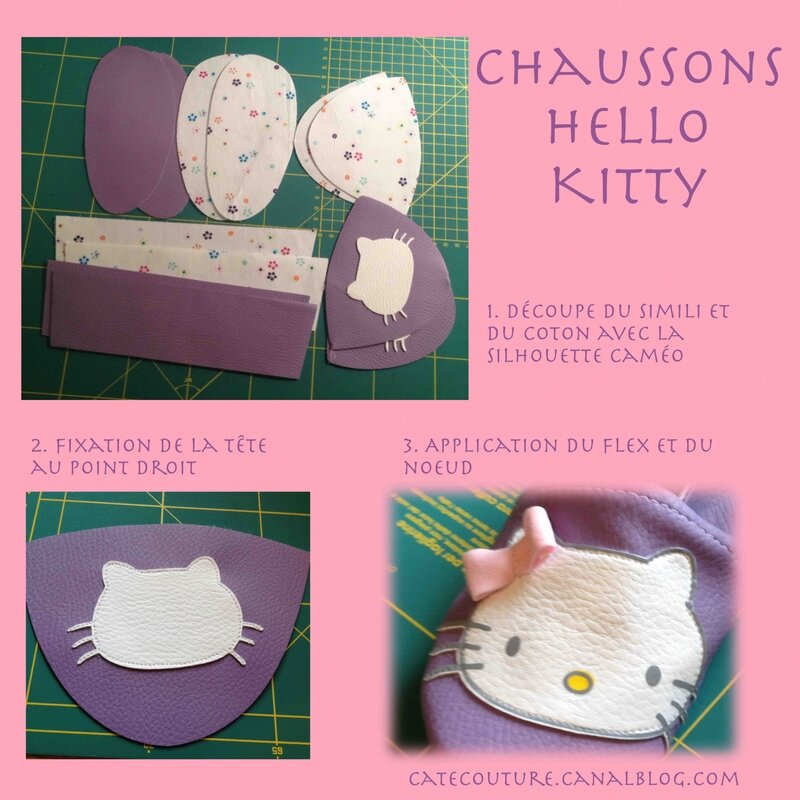 chaussons hello kitty 1