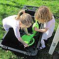 Jardinage le 29 mars avec les enfants du centre social