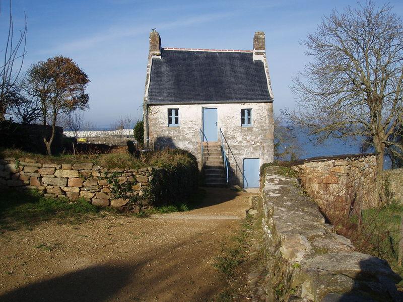 Demeure bretonne des Plomarc'h (Douarnenez, décembre 2008)