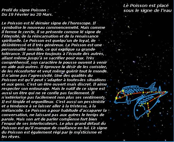 carte horoscope signe poissons