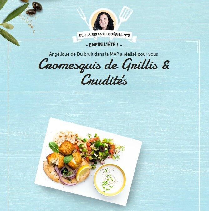 grillis defiss cromesqui