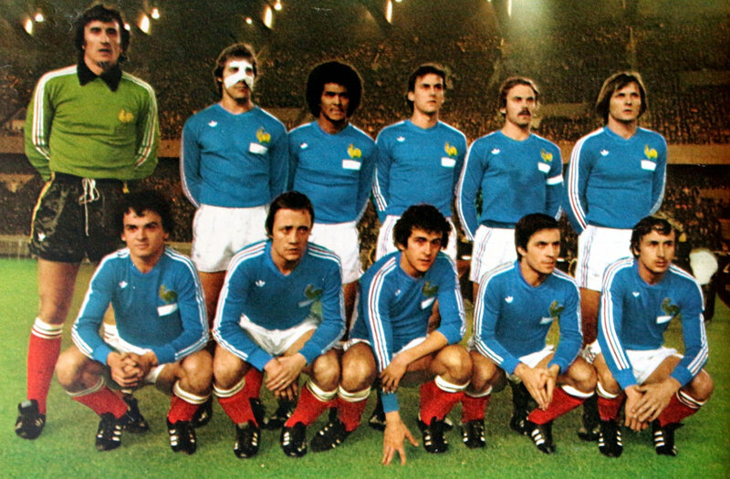 23 février 1977 LA FRANCE FACE À LA RFA EN MATCH AMICAL