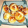 Petits pains au lait végétal, couronne aux fruits confits