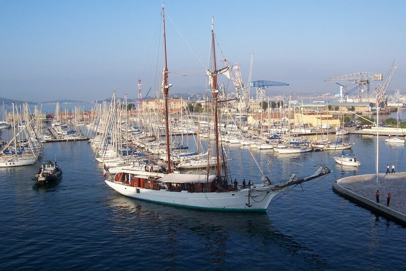 les grands voiliers a toulon en 2007