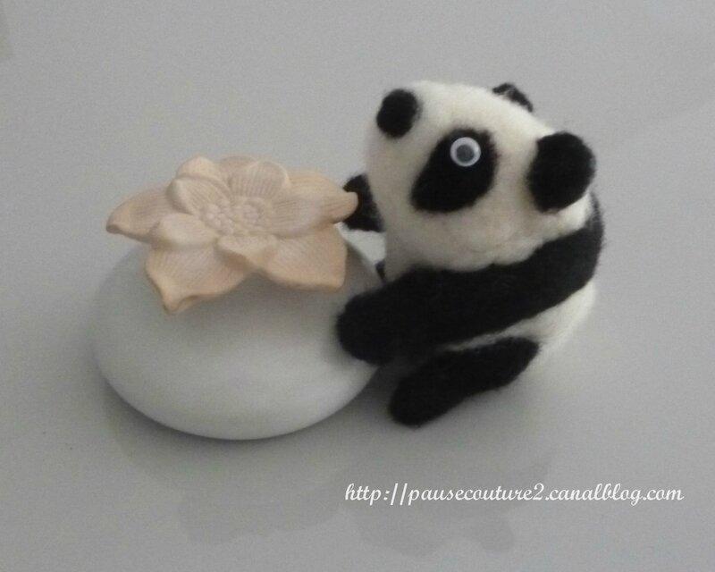 feutrine panda B