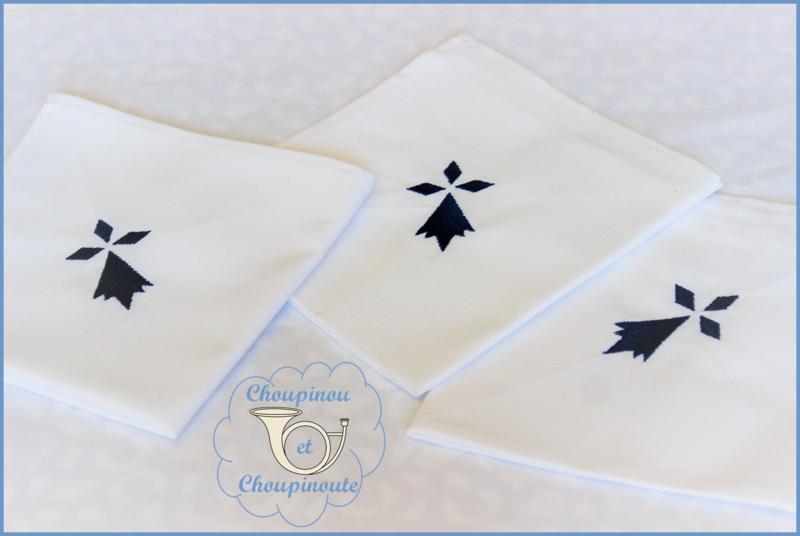 nappe et serviettes 6