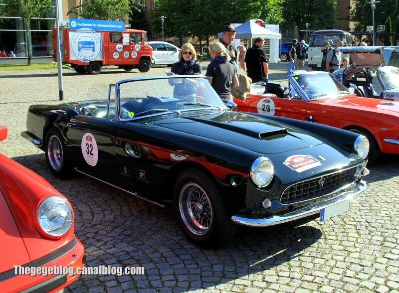 Ferrari 250 GT série 2 cabriolet de 1960 (200 ex)(Paul Pietsch Classic 2014) 01
