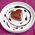Coeur moelleux au chocolat et porto