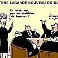 Christine lagarde nouveau directeur général du fmi