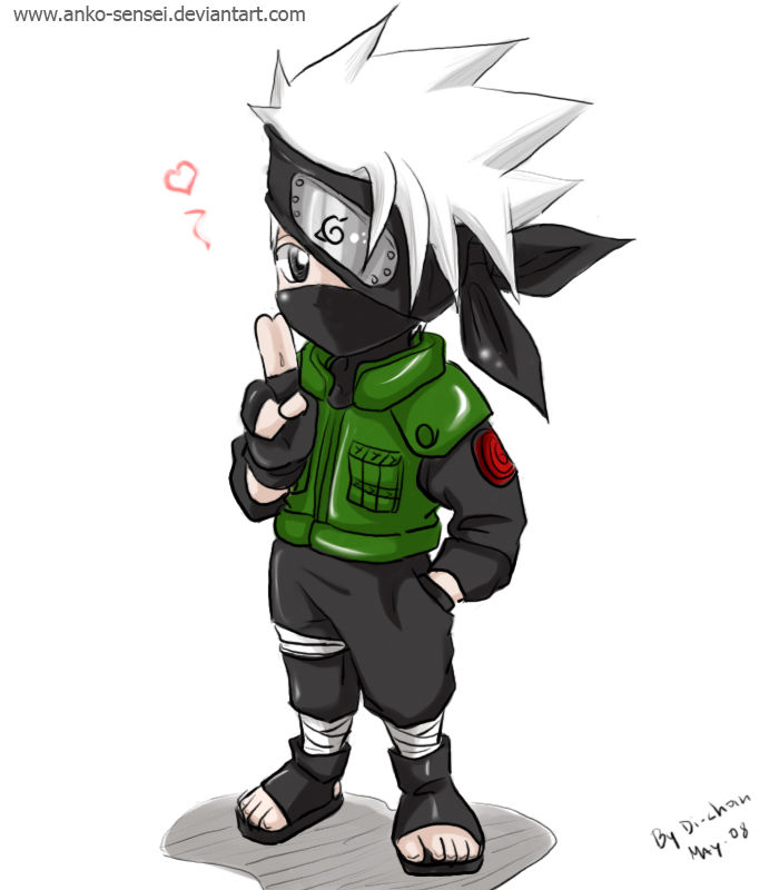 Chibi_Kakashi_colored_by_Anko_sensei