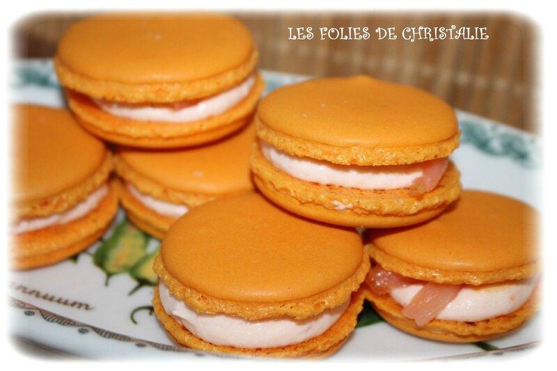 Macarons saumon 4
