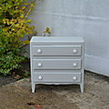 Petite commode ancienne