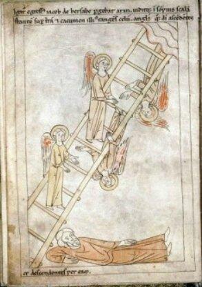 Echelle de Jacob, Bible du XIIe s