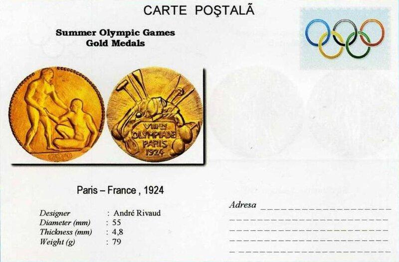 Médaille Paris 1924