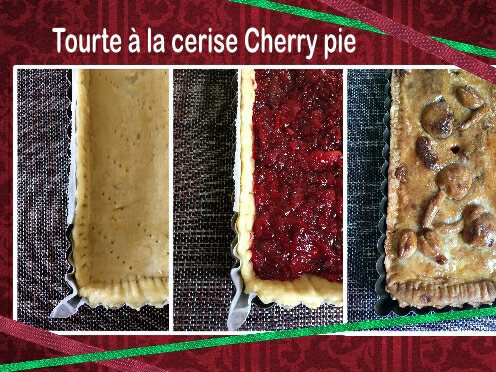 tourte à la cerise trio (SCRAP)