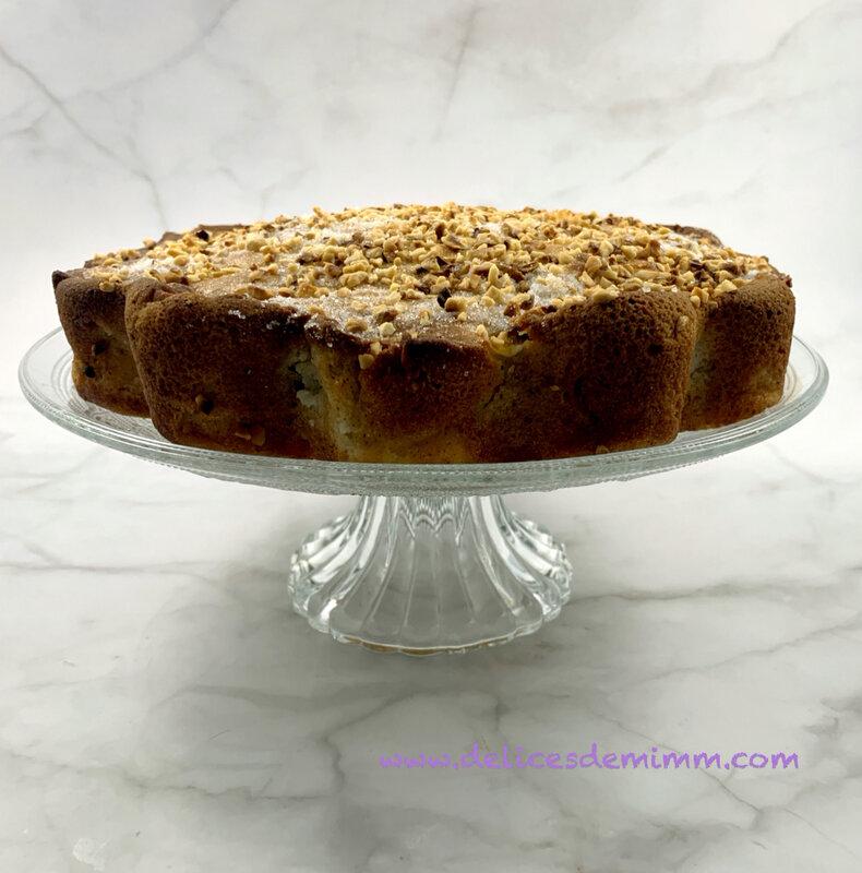 Gâteau moelleux d'automne pommes-noisettes 2
