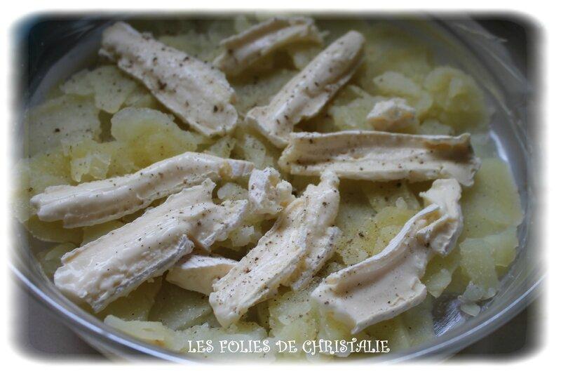 Gâteau de pommes de terre au reblochon 2