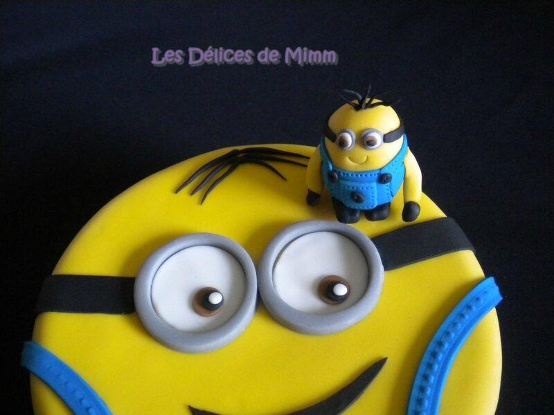 Gâteau Minion 10