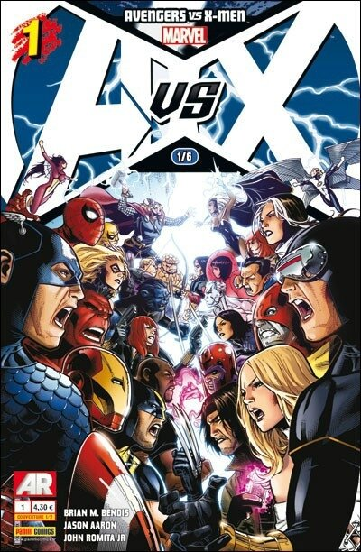 Panini Marvel Avengers vs X-Men