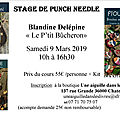 Stage de punch needle