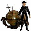 Elizabeth Swann with glowing brethren court globe and swords