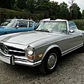 Mercedes benz 280 sl roadster version us, 1969