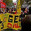 Manifestation place de la Bastille.