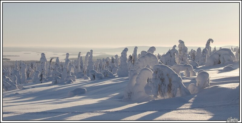 Risitunturi, Finlande