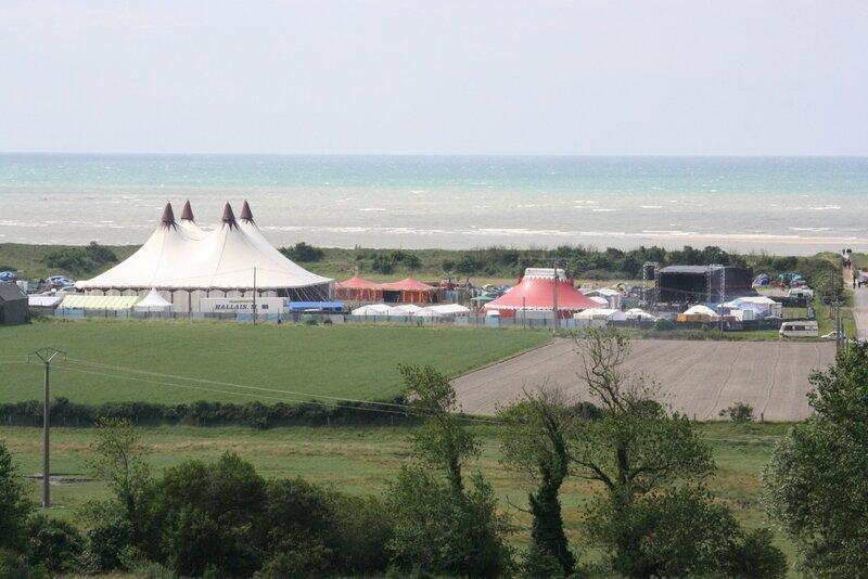 festival CDLN 2012 Chauffer dans la Noirceur site plage