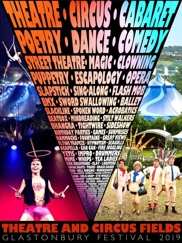 Glastonbury_festival_2019_Theatre_Circus_Theatre_Circus Field_line-up_programmation_poster_affiche