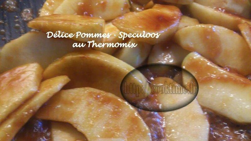 Delice pommes speculoos thermomix 5