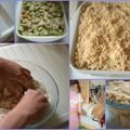 Happy sunday evening #32 - crumble à 6 mains