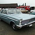 Mercury comet custom 4door sedan, 1965