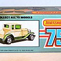 001 MB73 Ford Model A Voiture 3 Box