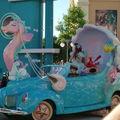 la parade des Disney Studios : la petite sirène