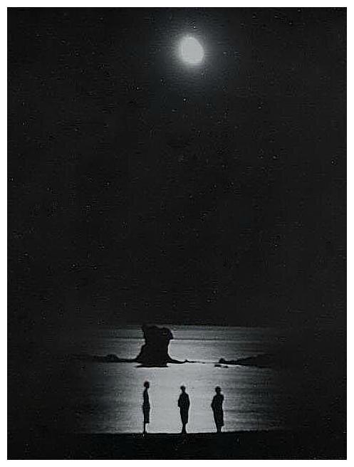 l'ile petite au clair de lune Sept 1954 ''