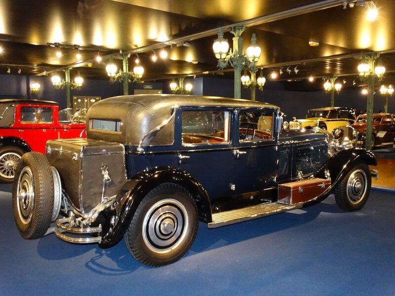 ISOTTA FRASCHINI type 8A berline 1925 Mulhouse (2)
