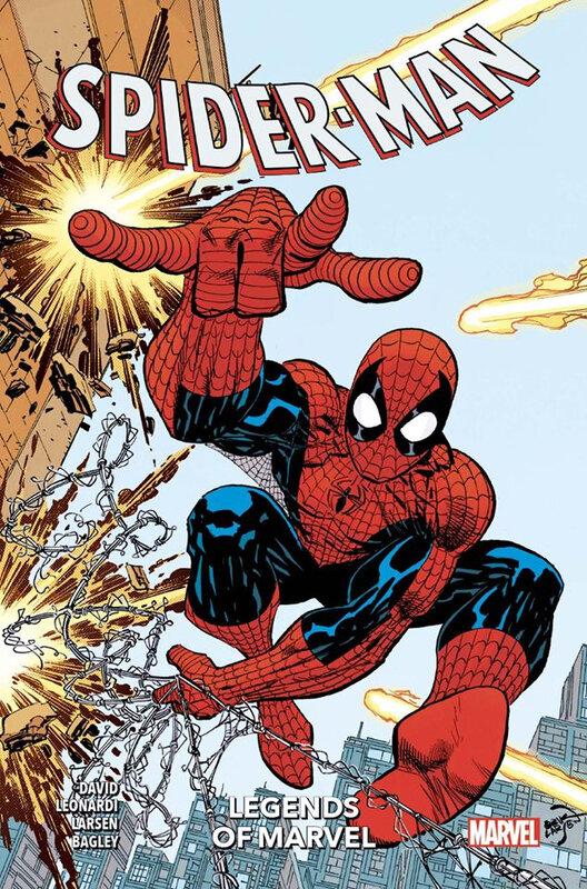 100% marvel legends of marvel spiderman