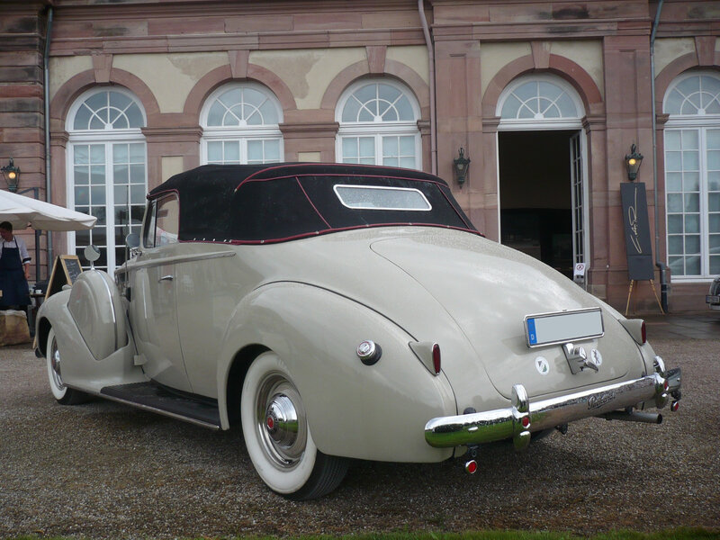 PACKARD One-Twenty 2door convertible 1940 Schwetzingen (2)