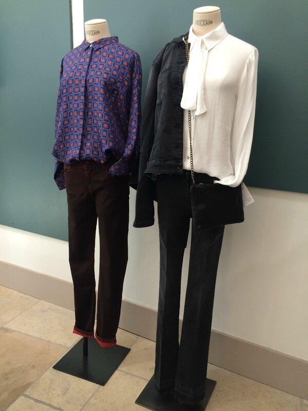 Jeans WAS, MAY JUNE, Chloé STORA, B YU, ANAE ROSE automne hiver 2016 Boutique Avant Après 29 rue Foch 34000 Montpellier