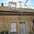 Fenêtre de la chambre dans le toit devant
