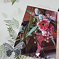 Page bouquet d'un jour - m&t version scrap