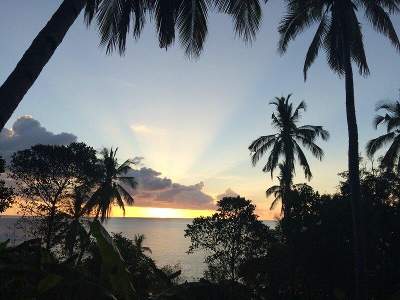 Coucher de soleil mahorais