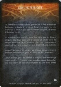 Shaenre - lémure féerique (artefact)